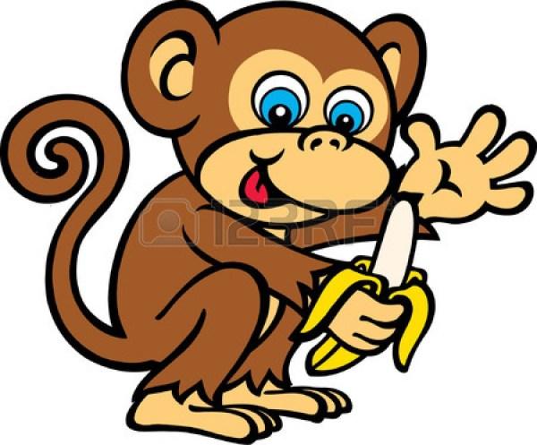 free monkey clip art