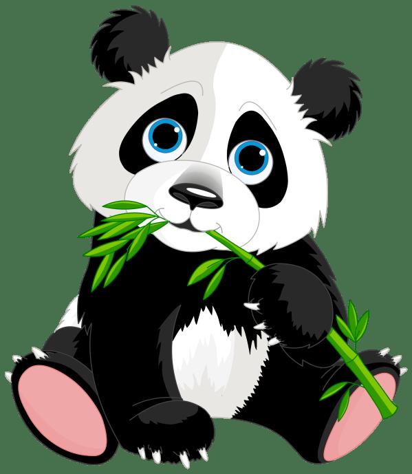 Transparent Panda Clip Art