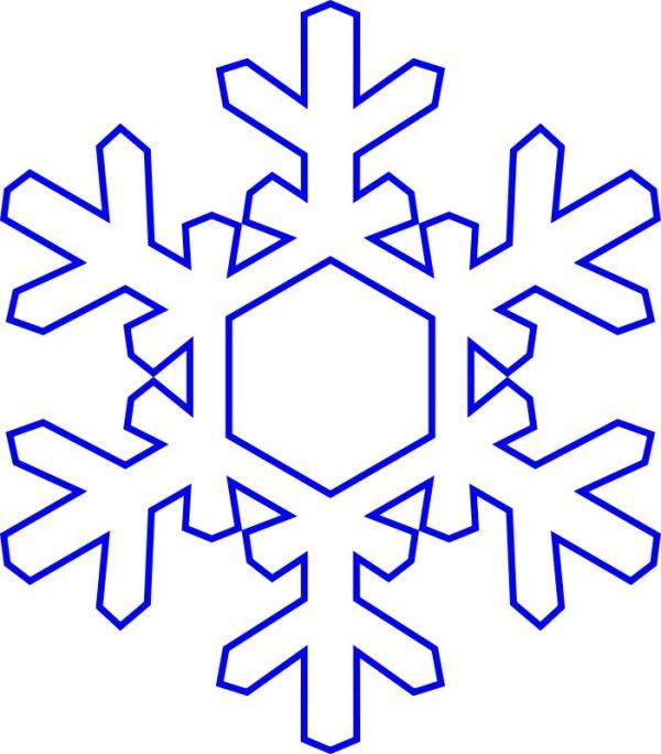 snowflakes snowflake clipart 9