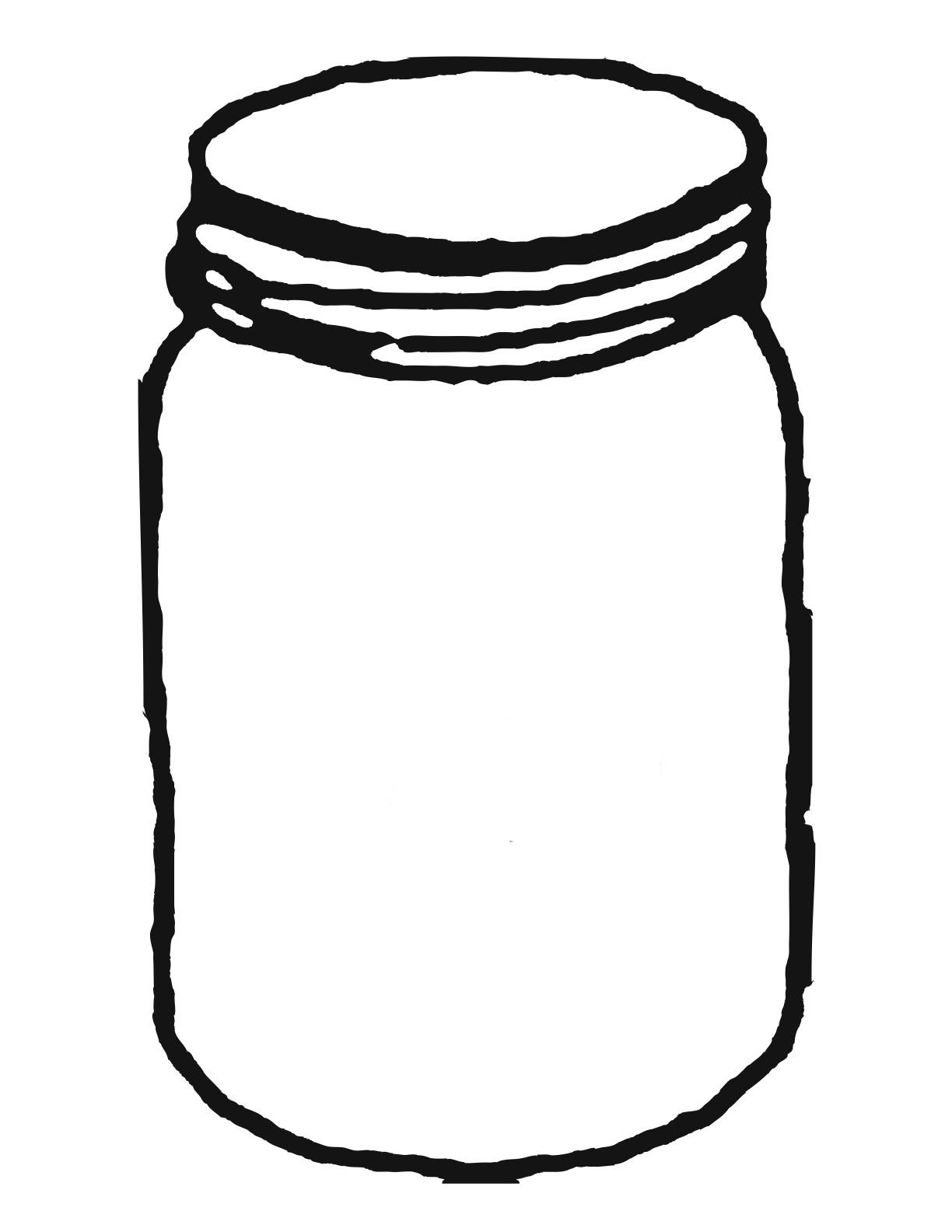 Mason Jar Clip Art 4 Jar Clipart Clipartcow