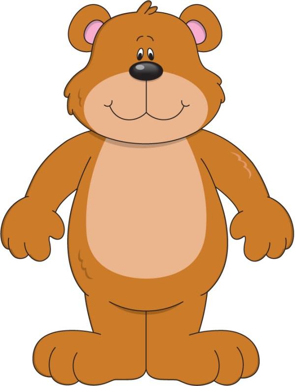 free bear clip art - clipartix
