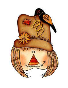 free scarecrow clipart