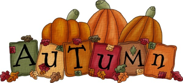 autumn clipart fall happy thanksgiving