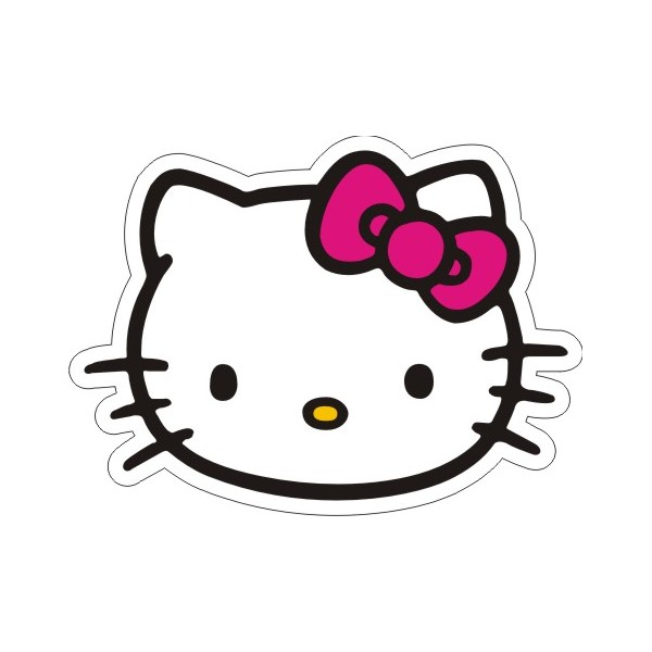 bow kitty clipart - clipartix