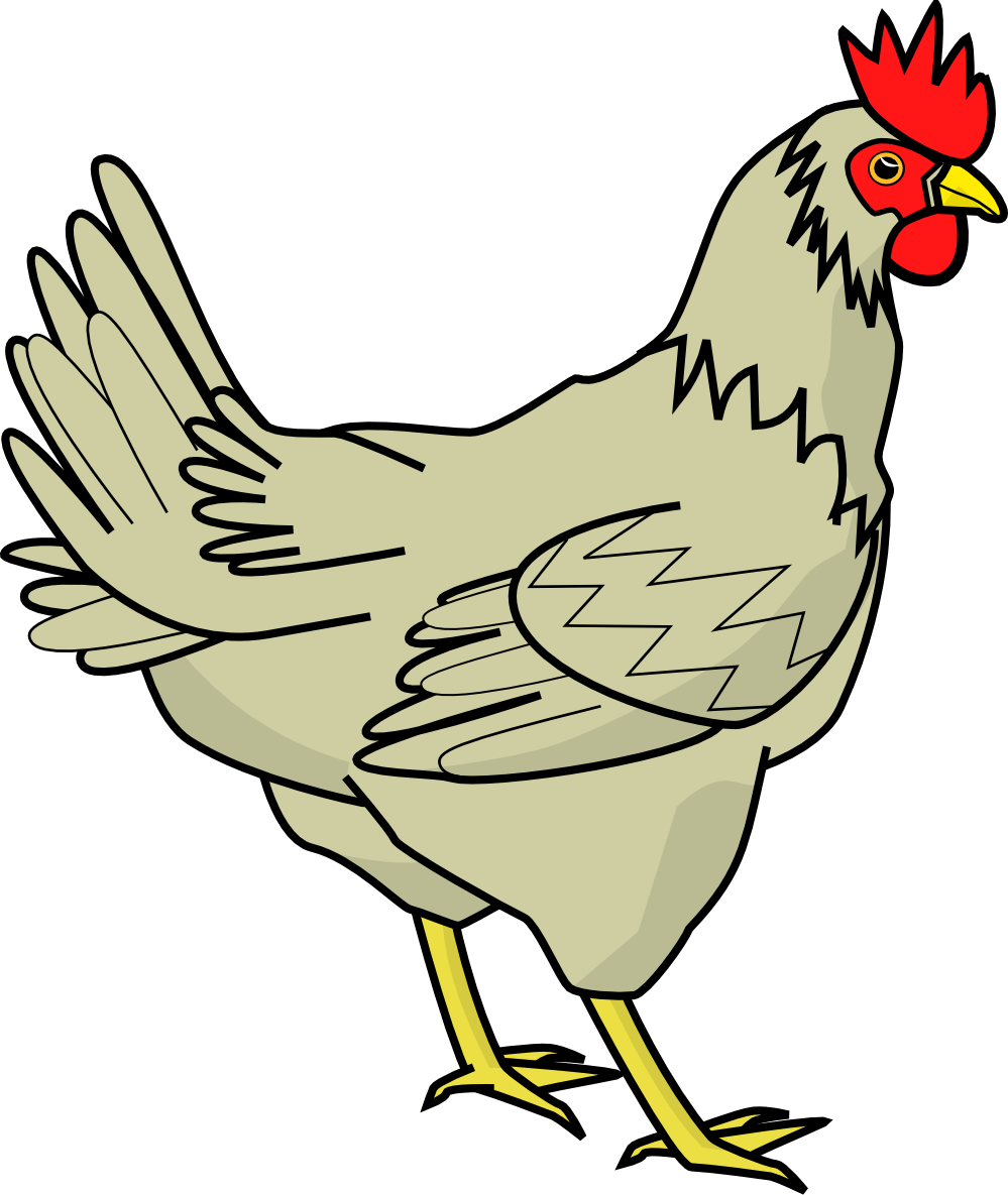 hight resolution of chicken clipart black and white free clipart images