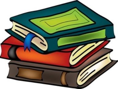 books children reading book clipart