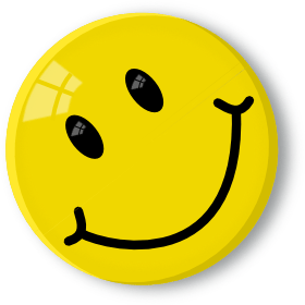 smiley face happy star clipart
