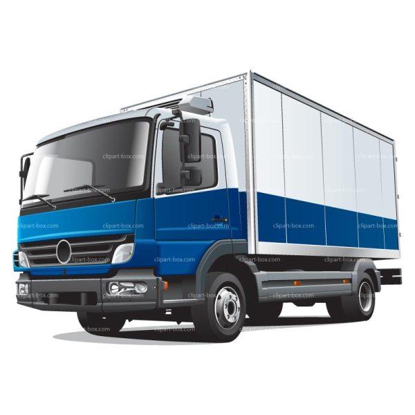 free truck clipart - clipartix
