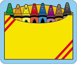 color crayons clipart - clipartix