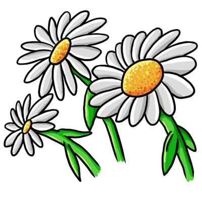 free daisy clip art