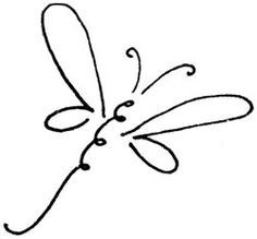 dragonfly clipart great mini stickers