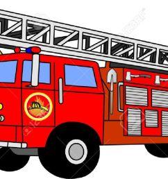 fire truck firetruck stock illustrations vectors clipart stock vector [ 1300 x 707 Pixel ]