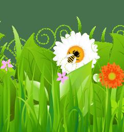 flowers free clip art grass clipart clipartbold clipartix [ 2378 x 669 Pixel ]