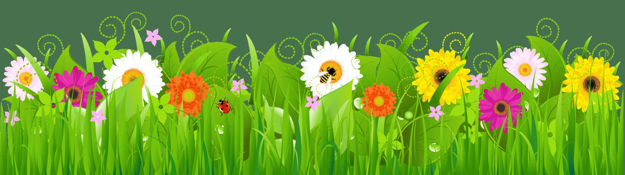 hight resolution of flowers free clip art grass clipart clipartbold clipartix