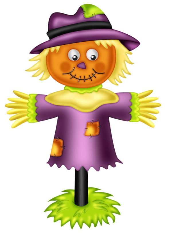 halloween scarecrow clip art