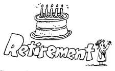 Announcement Clip Art for Retirement