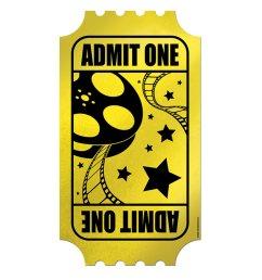 golden ticket clip art [ 1600 x 1600 Pixel ]