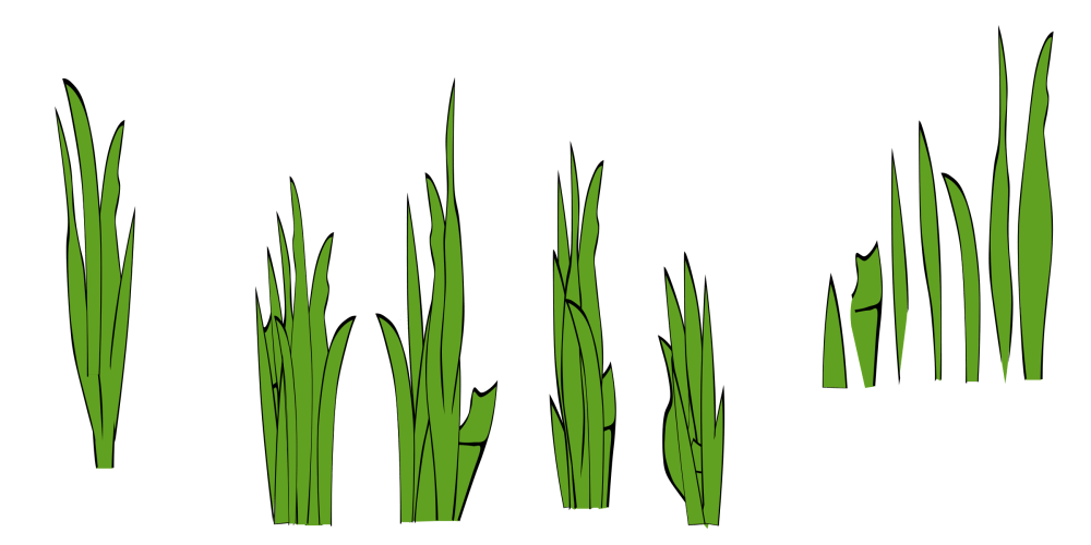 medium resolution of grass outline border free clipart images