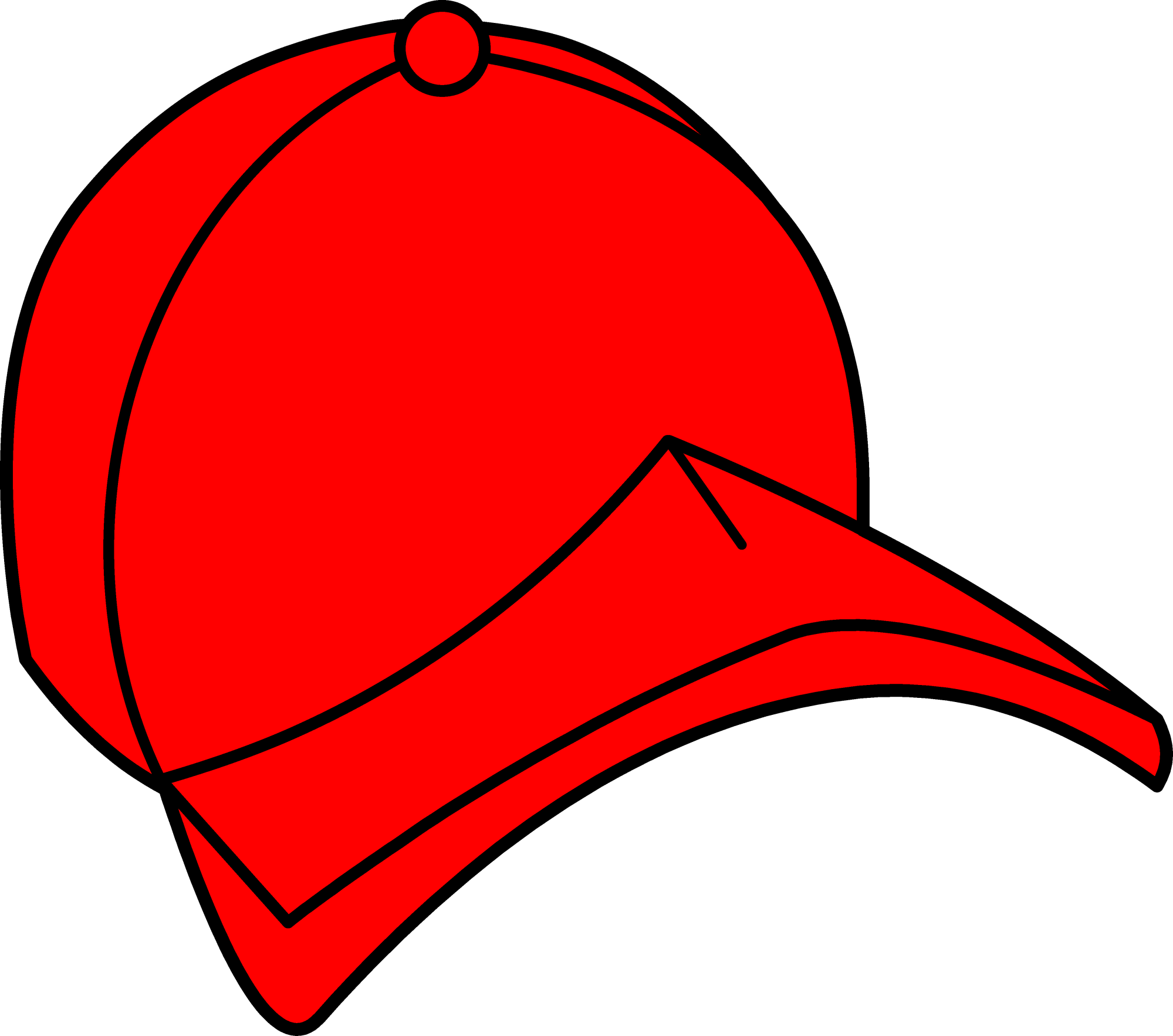 hight resolution of hat red baseball cap clipart free clip art