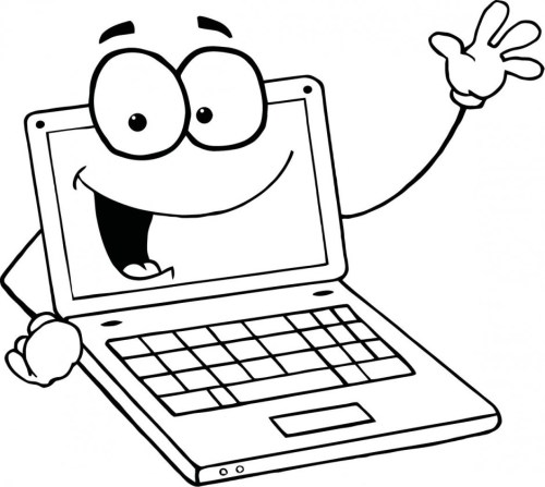 small resolution of images for laptop clipart image