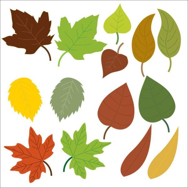 free leaves clip art