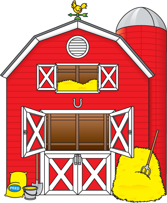 free barn clipart - clipartix