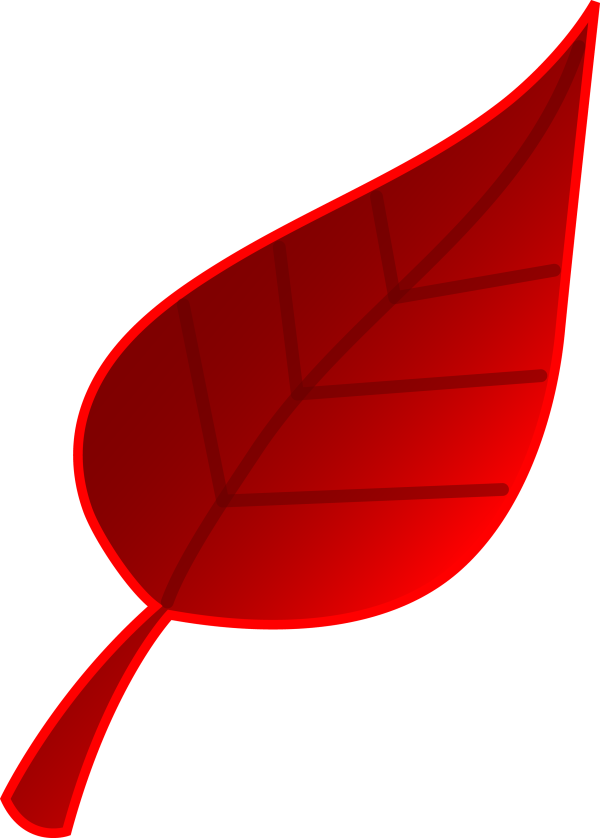red fall leaves clipart clipartcow