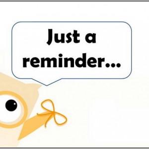 free reminder clip art