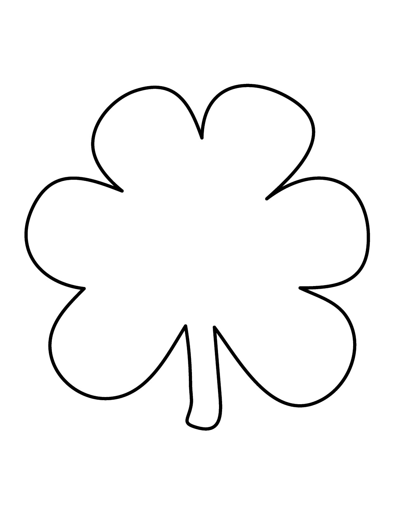 Free Shamrock Clip Art Pictures