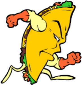 Animated taco clipart cliparthut free clipart  Clipartix