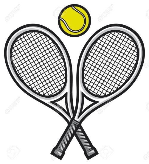 small resolution of tennis clipart 2