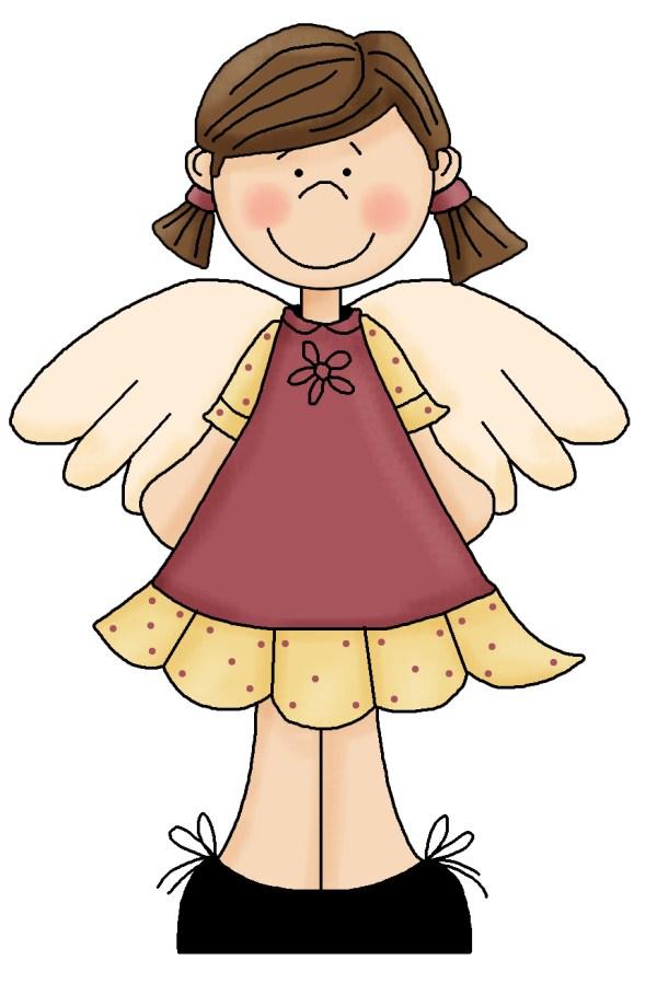 free angel clip art