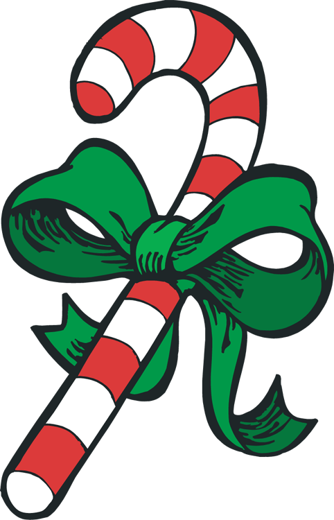 candy cane christmas clip art free