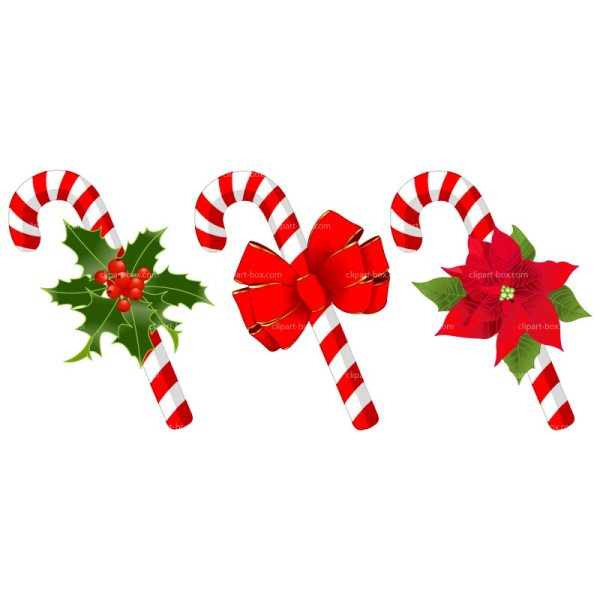 Christmas Candy Cane Clip Art Free
