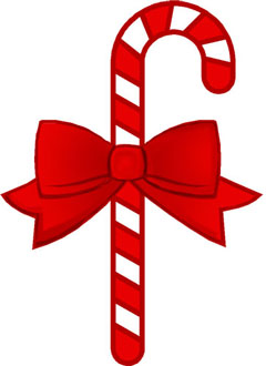 candy cane free christmas clipart
