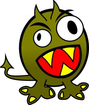 monster clip art clipart - clipartix