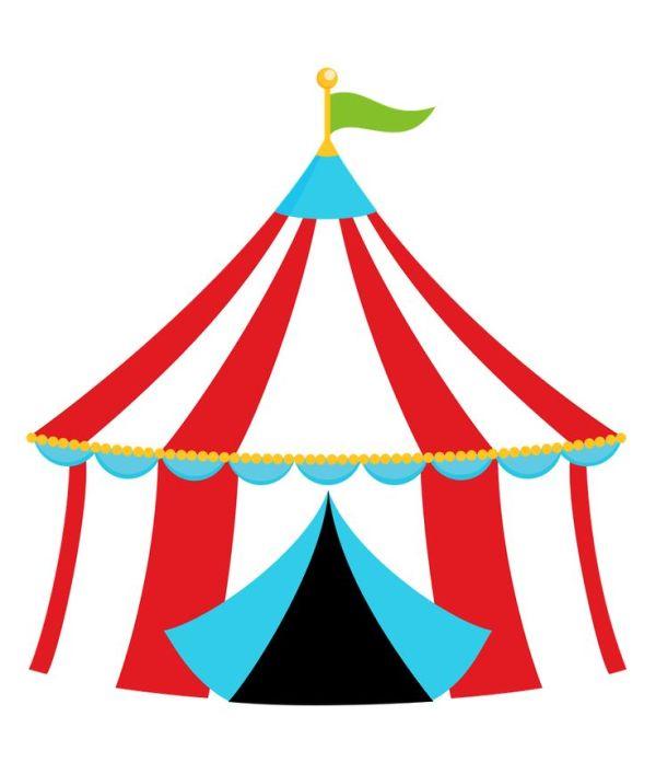 circus border clipart free