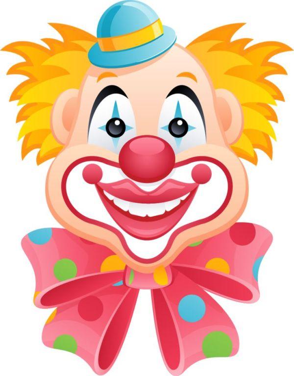 cartoon clown clipart