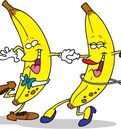 dancing banana funny clip art [ 1600 x 1262 Pixel ]