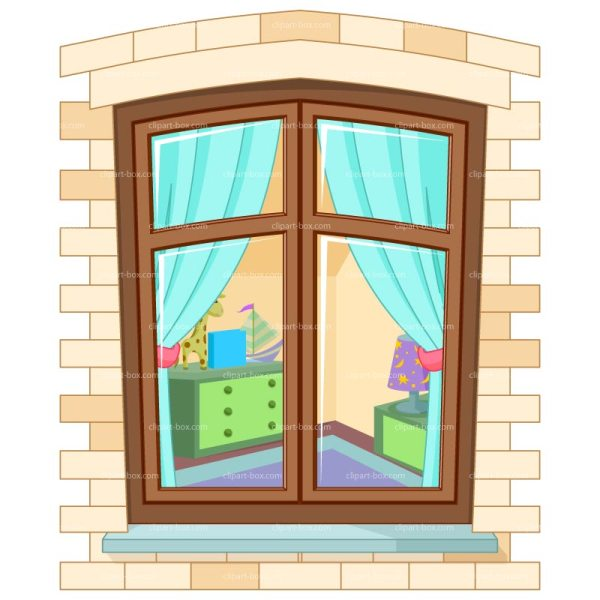 open house window clipart