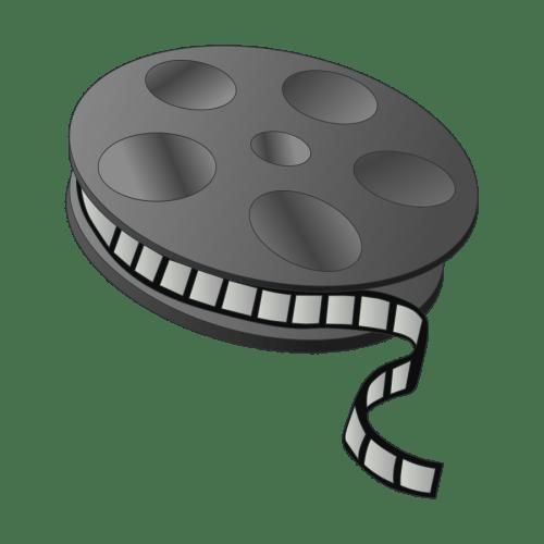 small resolution of movie reel clipart vector clip art free design
