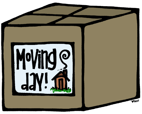 small resolution of moving day clipart