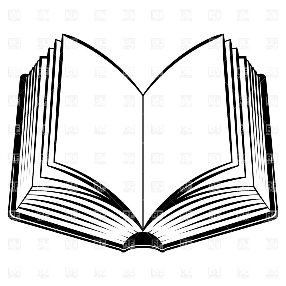 medium resolution of open book outline clipart free clipart images 2