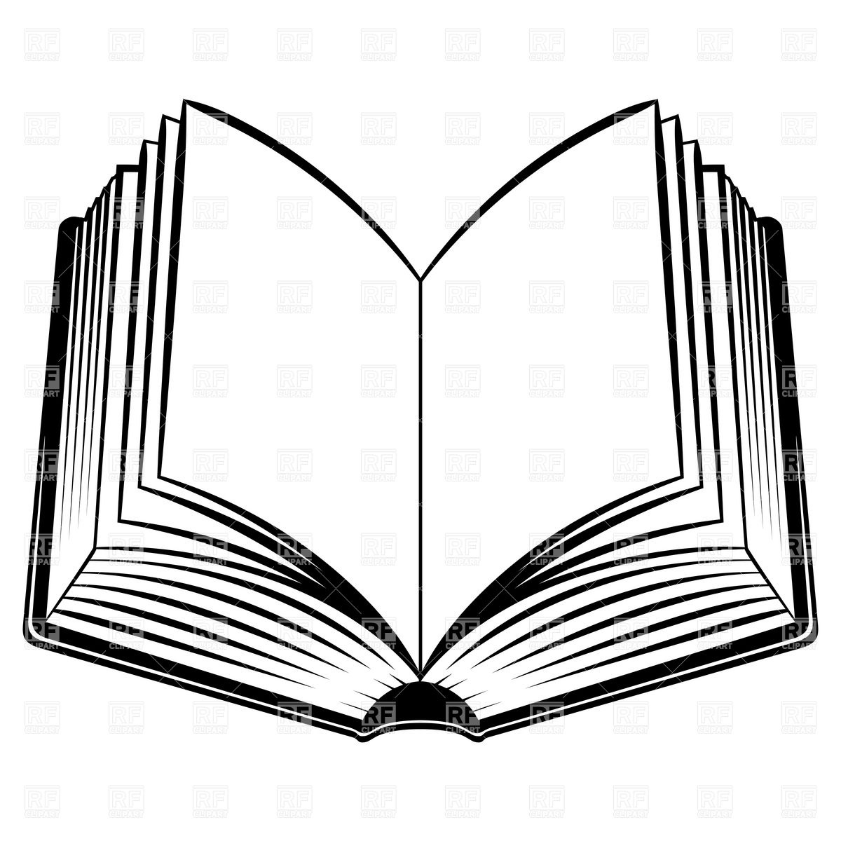 hight resolution of open book outline clipart free clipart images 2