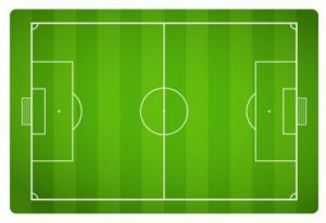 free football field clipart