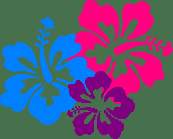 hawaiian flower hawaii clipart