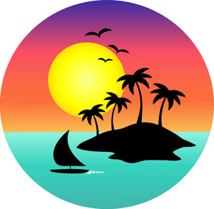 Hawaiian hawaii clip art free clipart  Clipartix