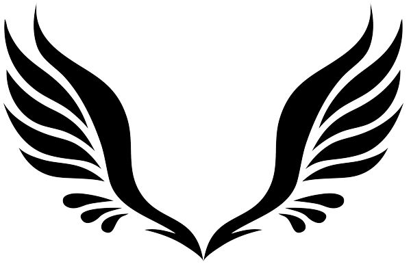 angel wing clipart 0