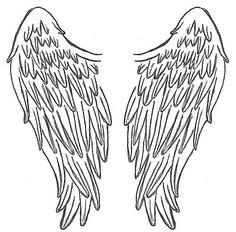 angel wings on angel