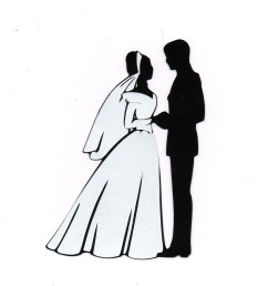 bride and groom clipart 7 bride and groom silhouette image 2 [ 1320 x 1500 Pixel ]